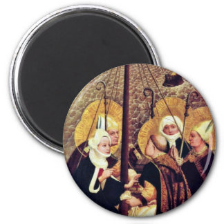 The Sea Voyage Of The Holy By Moser Lucas (Best Qu 2 Inch Round Magnet