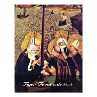 """The Sea Voyage Of The Holy By Moser Lucas (Best Qu 8.5"""" X 11"""" Flyer"""