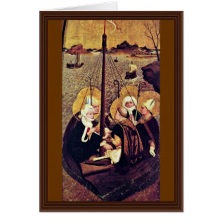 The Sea Voyage Of The Holy By Moser Lucas (Best Qu Greeting Card