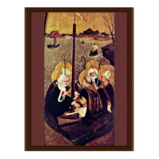 The Sea Voyage Of The Holy By Moser Lucas (Best Qu Postcard