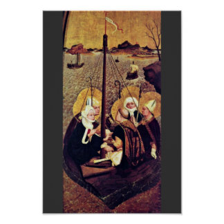 The Sea Voyage Of The Holy By Moser Lucas (Best Qu Poster