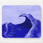 The Sea Wave Mouse Pad