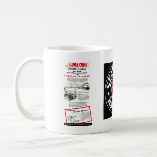 The Seaboard RailRoad Silver Comet Train Classic White Coffee Mug