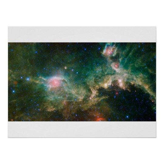 The Seagull Nebula Poster