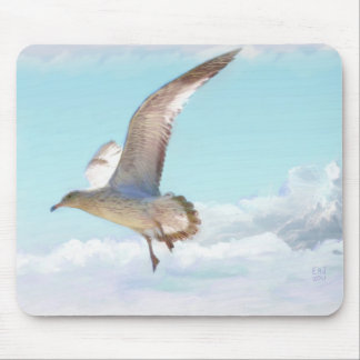 The Seagull Oil Painting Gallery Products Mousepads