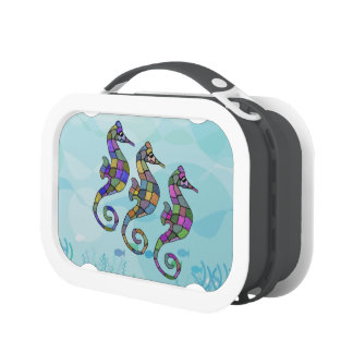 The Seahorse Rainbow Lunch Box