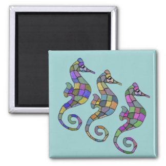 The Seahorse Rainbow Magnet