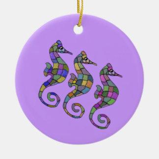 The Seahorse Rainbow Ornament