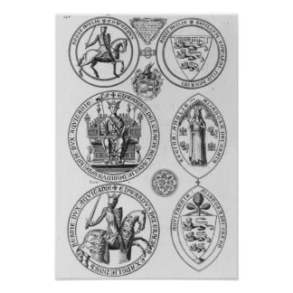 The Seals of Edward I Poster