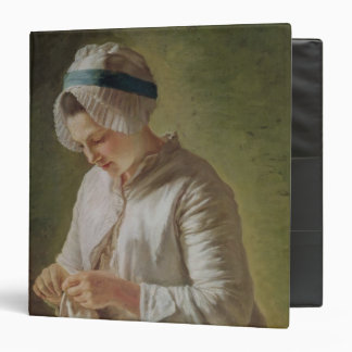 The Seamstress or, Young Woman Working Binder
