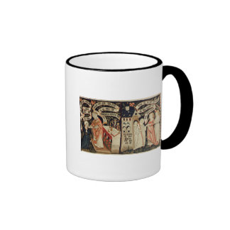 The Search after Truth, German, c.1490 Ringer Coffee Mug