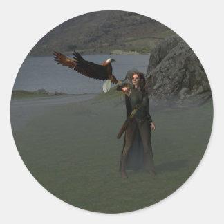 The Search Classic Round Sticker