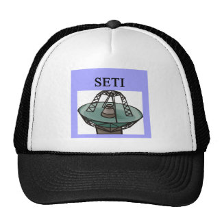 the search for extrterrestrial intelligence: seti hats