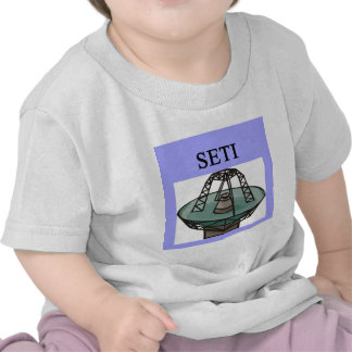 the search for extrterrestrial intelligence: seti tee shirts