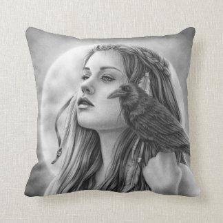 The Search Raven Pillow