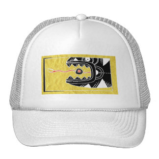 the searpant and the sun trucker hats