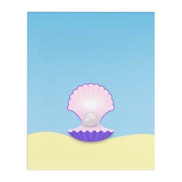 Beach Themed The Seashell Acrylic Print