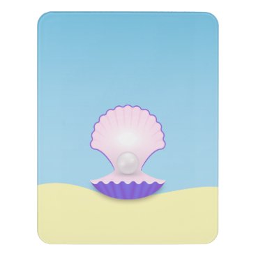 Beach Themed The Seashell Door Sign