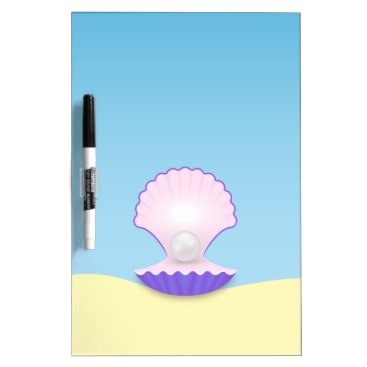 Beach Themed The Seashell Dry-Erase Board