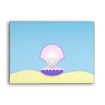 Beach Themed The Seashell Envelope