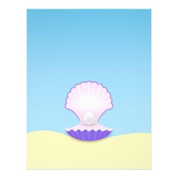Beach Themed The Seashell Flyer