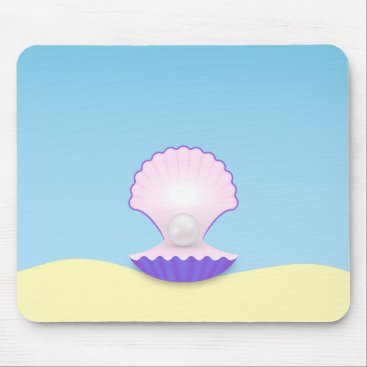 Beach Themed The Seashell Mouse Pad