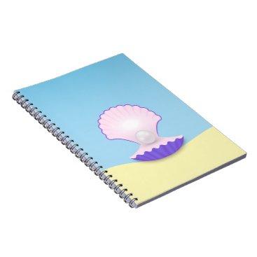 Beach Themed The Seashell Notebook