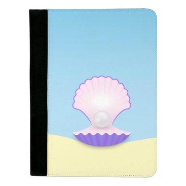 Beach Themed The Seashell Padfolio