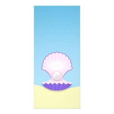 The Seashell Rack Card