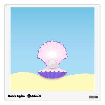 Beach Themed The Seashell Wall Sticker