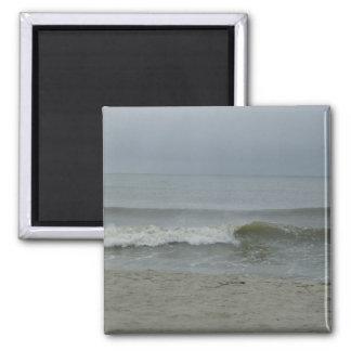 The Seashore 2 Inch Square Magnet