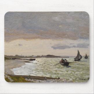 The Seashore at Sainte-Adresse, 1864 Mouse Pad