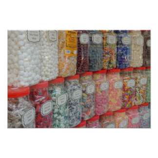 THE SEASIDE SWEET SHOP POSTER