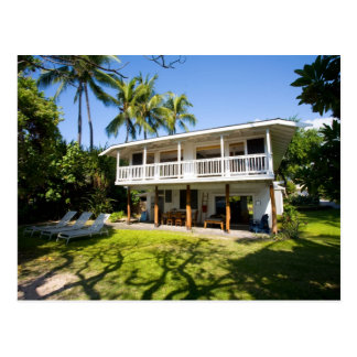The Seaside Zen Cottage Postcard