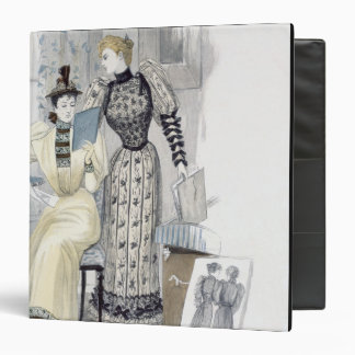 The Season, fashion plate for 'The Queen', Septemb Binders