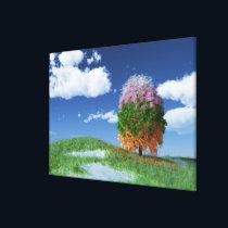 The Season Tree Canvas Print