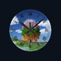The Season Tree Clock