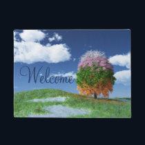 The Season Tree Doormat