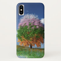 The Season Tree iPhone Case