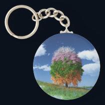 The Season Tree Keychain