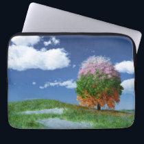 The Season Tree Laptop Sleeve