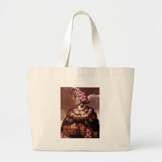 The Seasons by Giuseppe Arcimboldo Jumbo Tote Bag