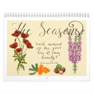 The Seasons Calendar