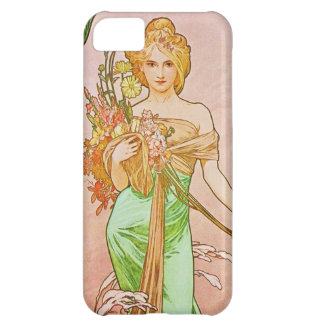 The Seasons: Spring Printemps, 1900 Alphonse Mucha Cover For iPhone 5C