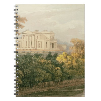The Seat of G.B. Greenough Esq., Regent's Park, fr Notebook