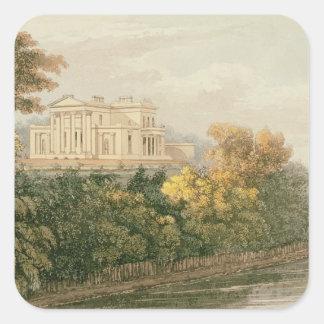 The Seat of G.B. Greenough Esq., Regent's Park, fr Square Sticker