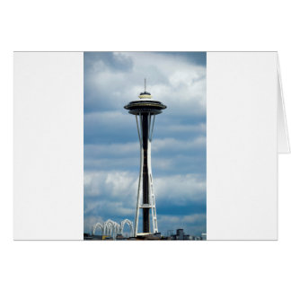 The Seattle Space Needle Card