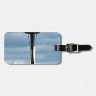 The Seattle Space Needle Luggage Tag