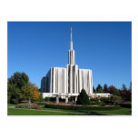The Seattle Washington LDS Temple Postcard