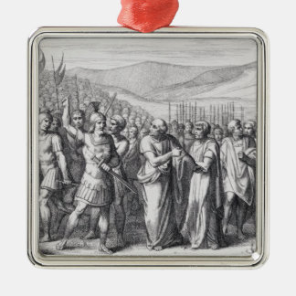The Secession of the People to the Mons Sacer Metal Ornament